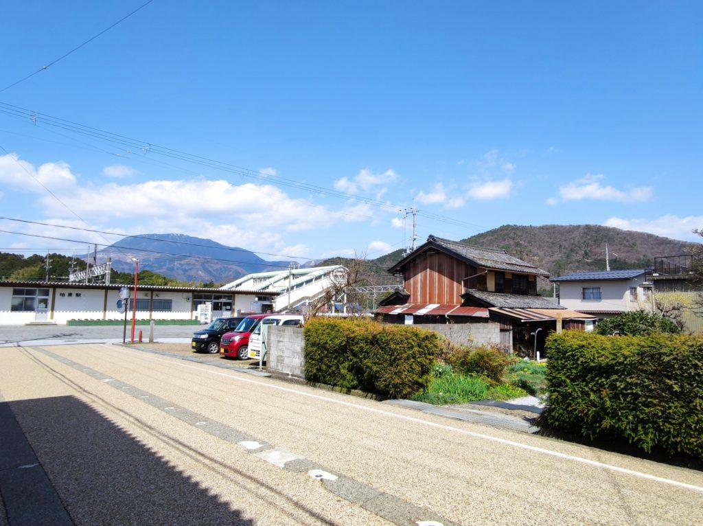 柏原駅から野瀬山