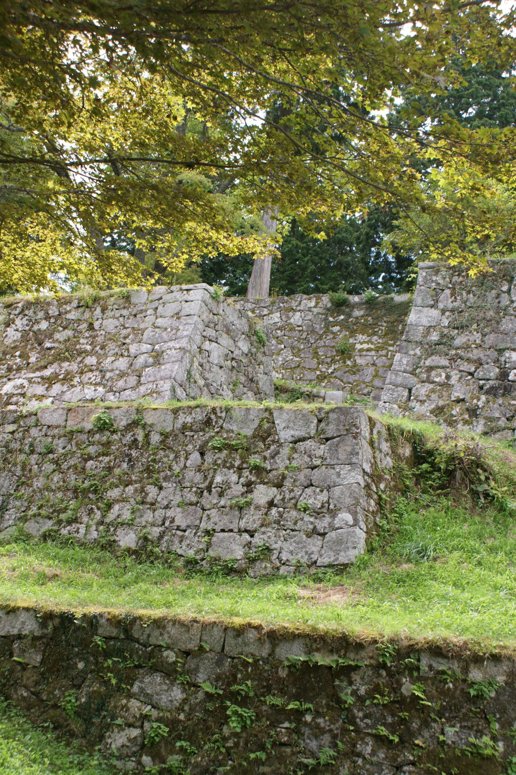 岩村城の石垣 本丸埋門