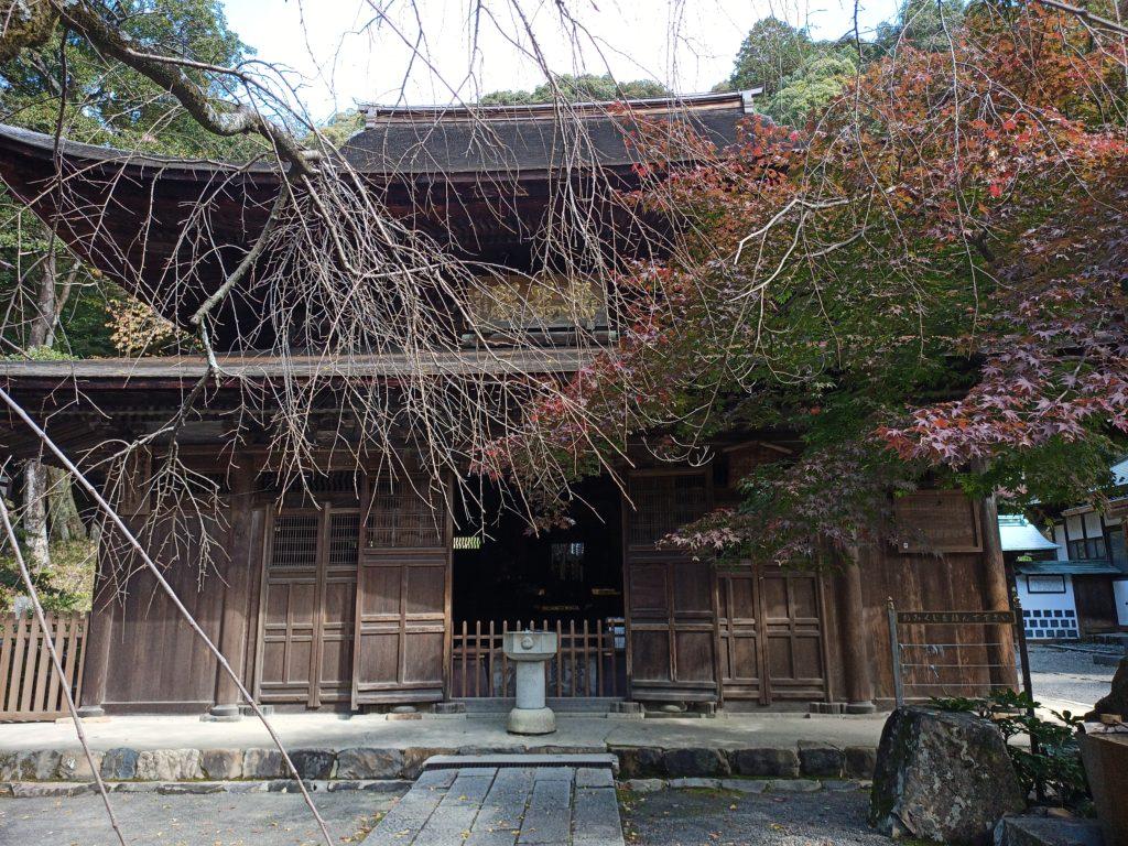 定光寺の本堂