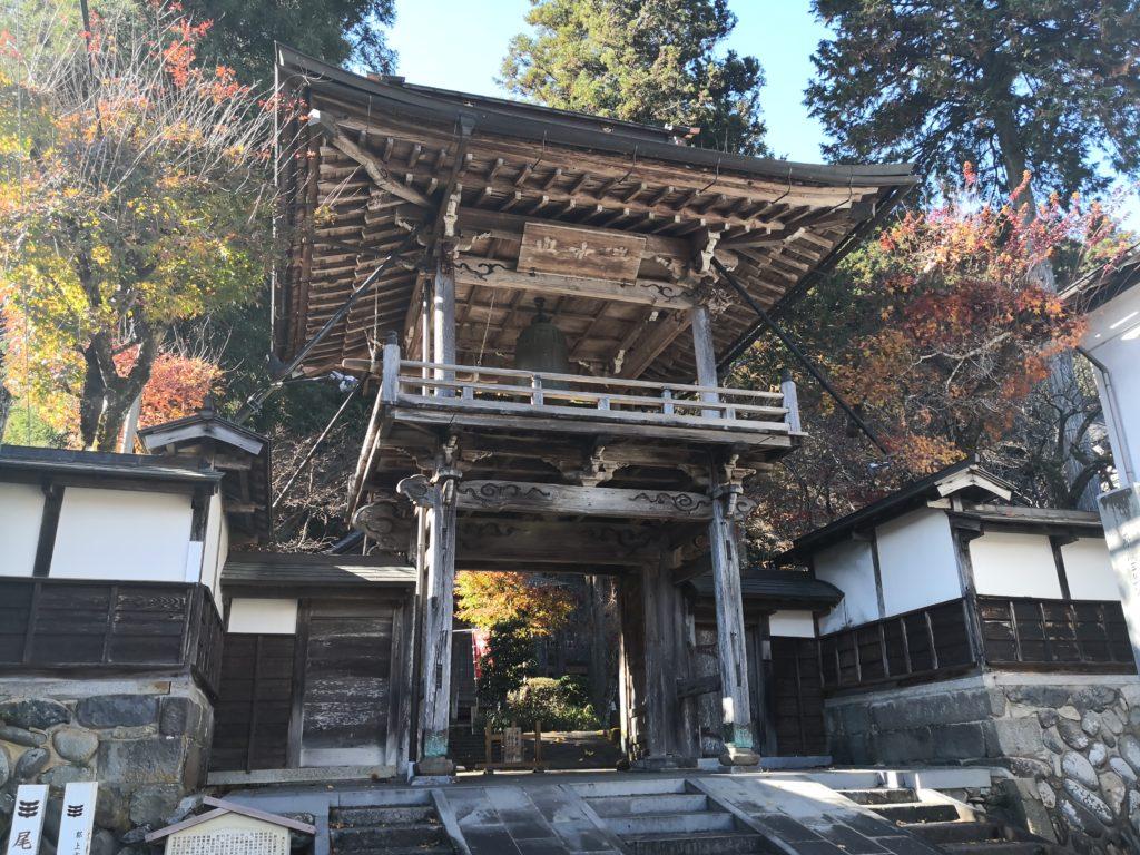 大乗寺鐘楼門