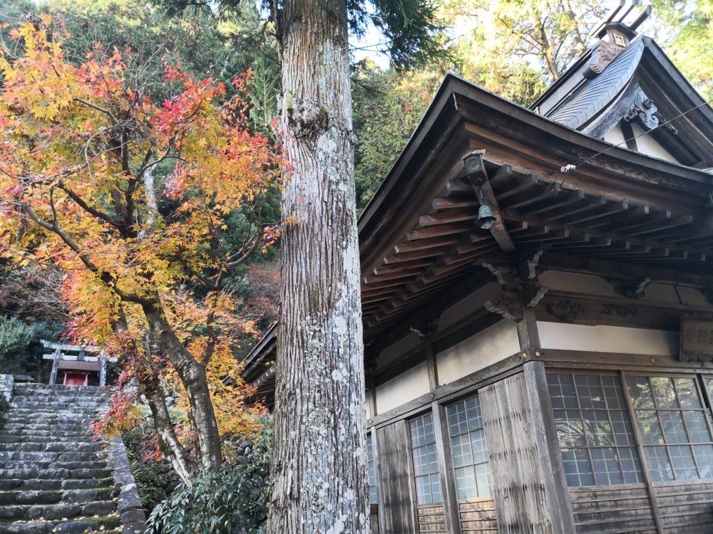 紅葉の大乗寺