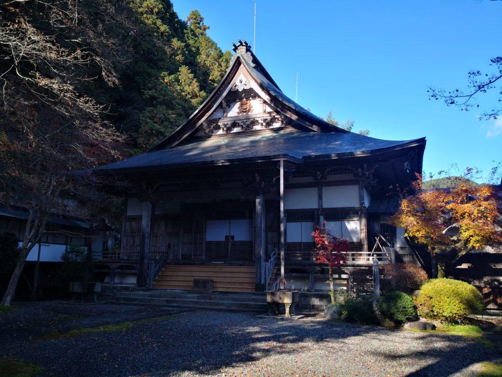 大乗寺本堂