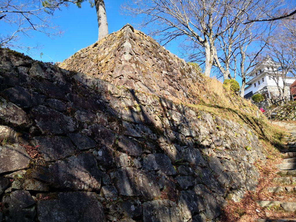 郡上八幡城の石垣