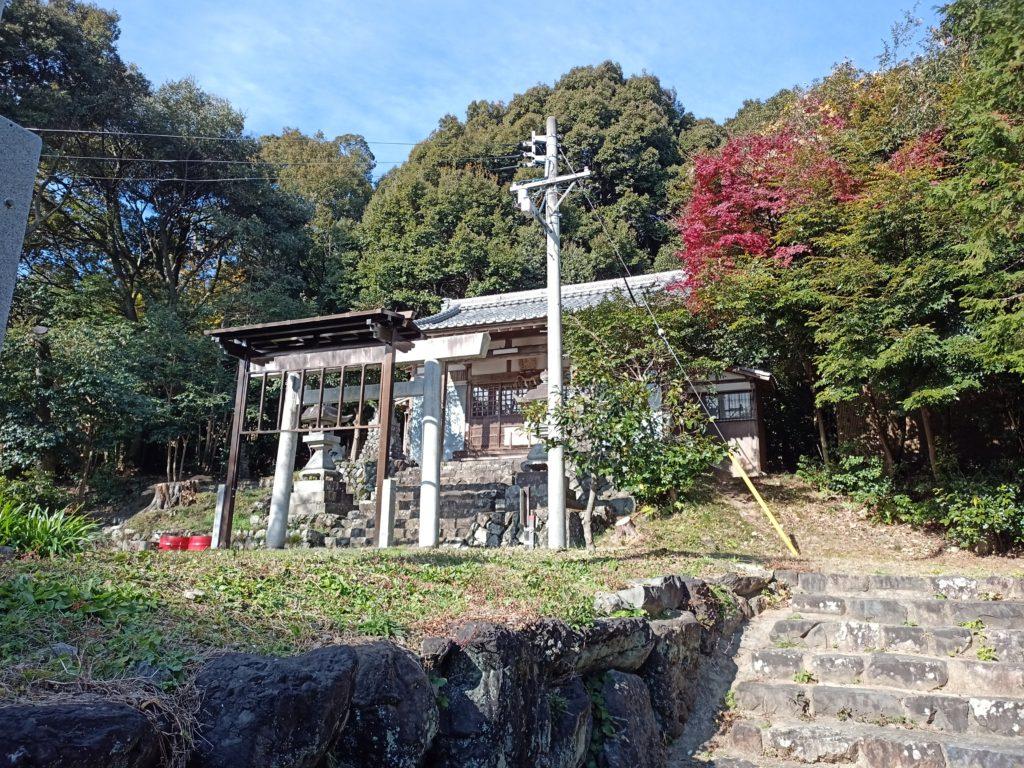 多度山登り口の愛宕神社