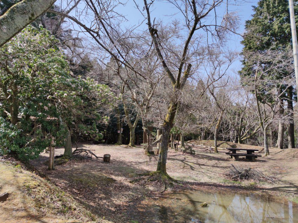 松尾山城の主郭