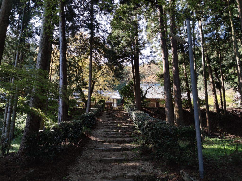 柏原の定菩提院