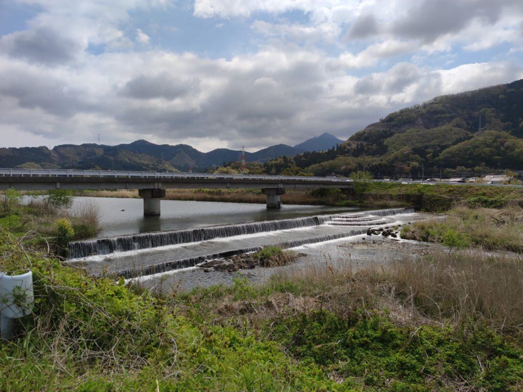 天野川に架かる橋