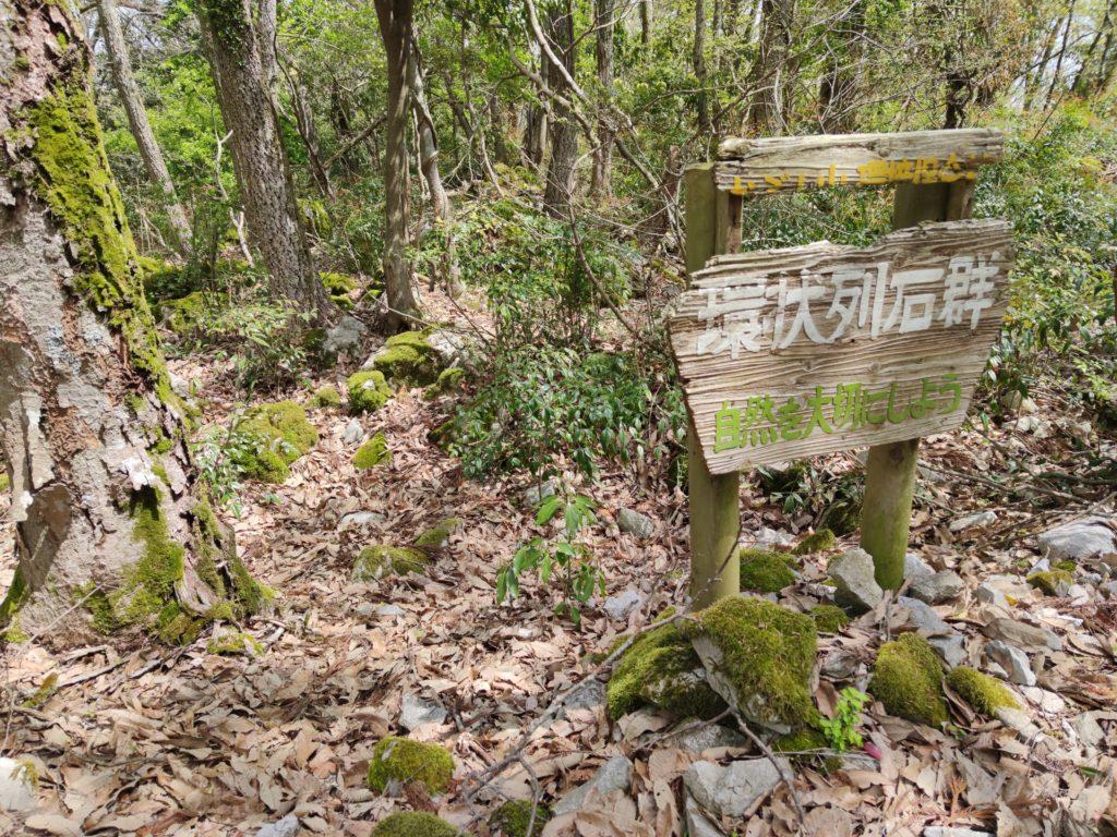 峰の環状列石群