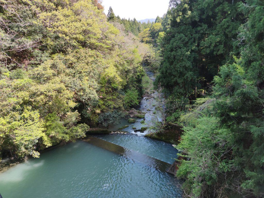 藤古川ダム湖