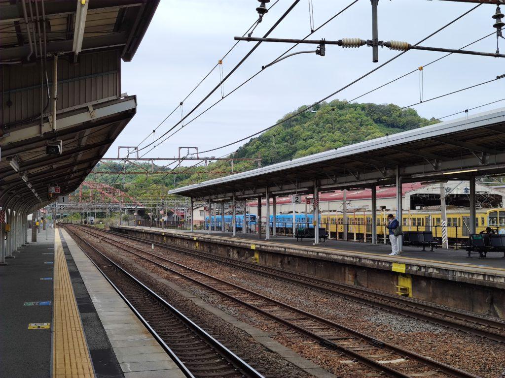 彦根駅からの佐和山