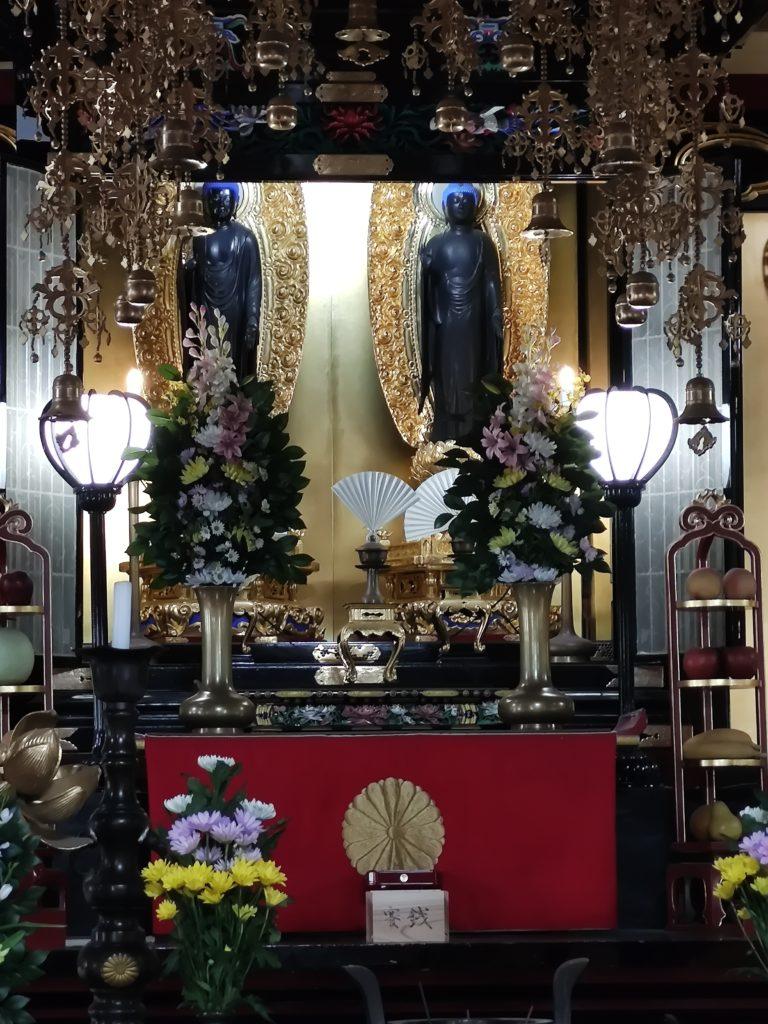 蓮華寺の本尊二体