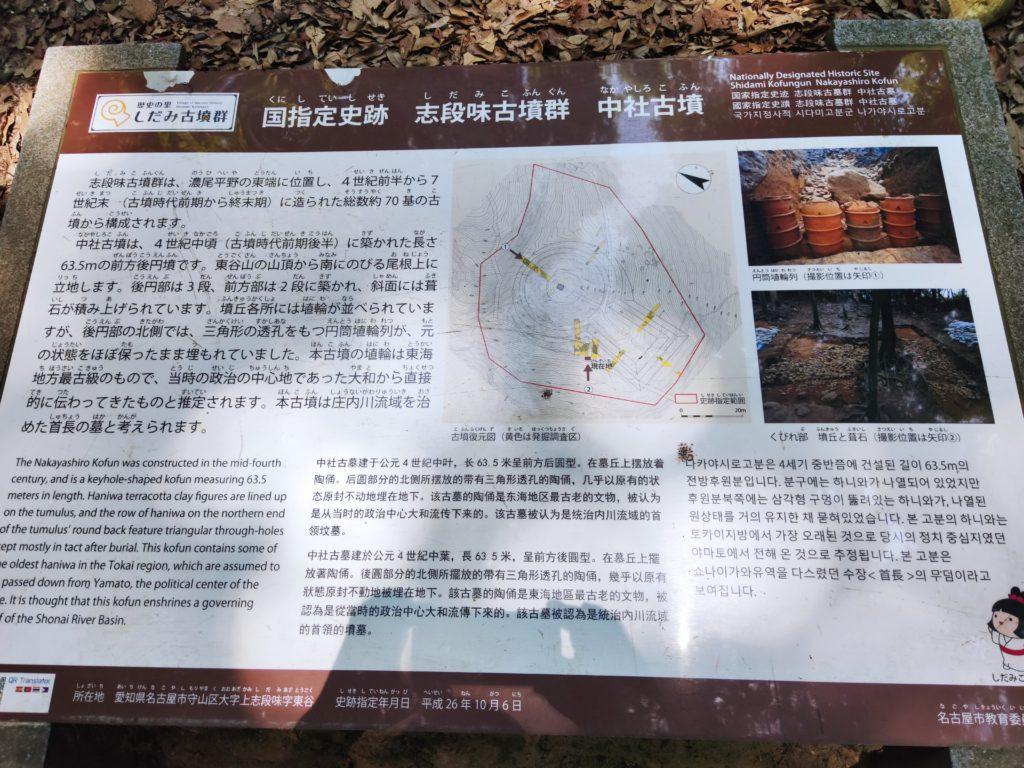 中社古墳の解説