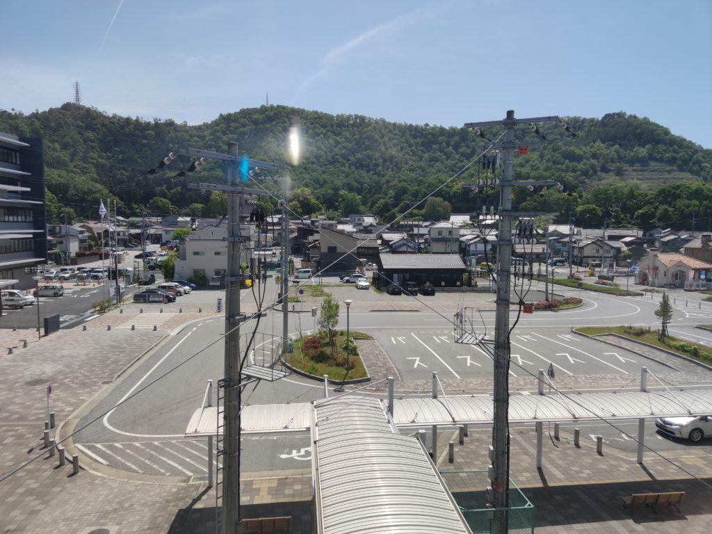 米原駅から見る太尾山