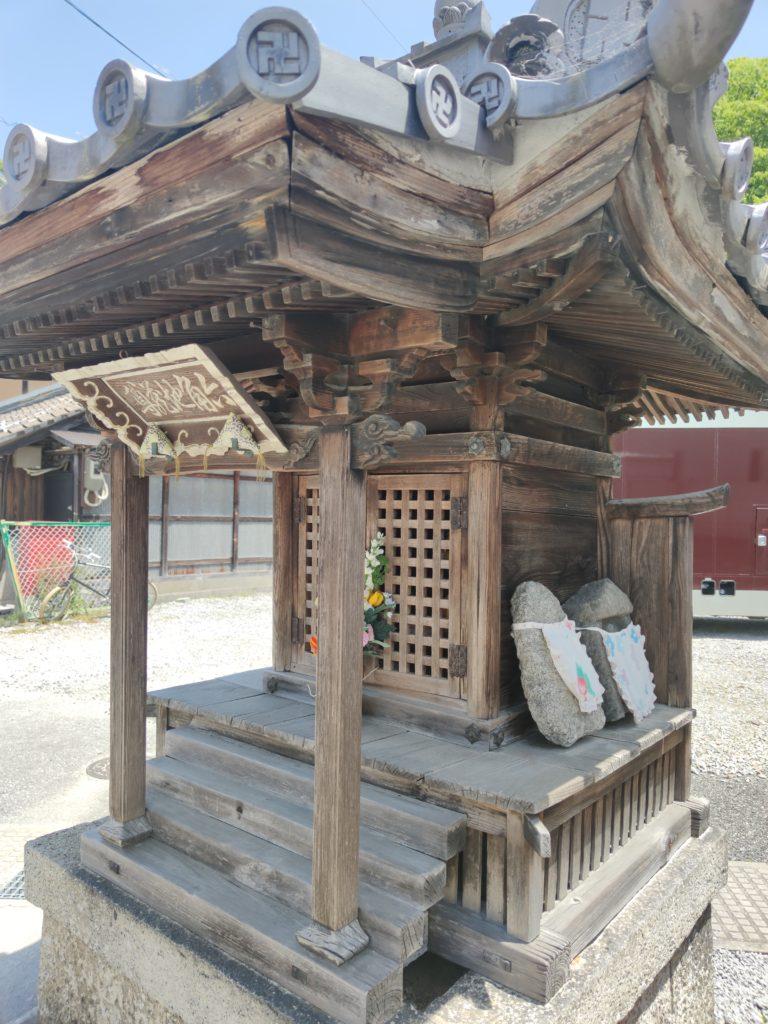 米原宿内の地蔵堂