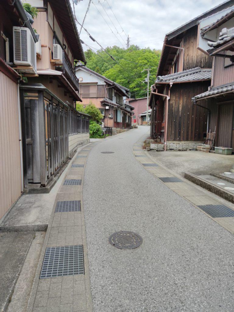 中山道番場宿への連絡路