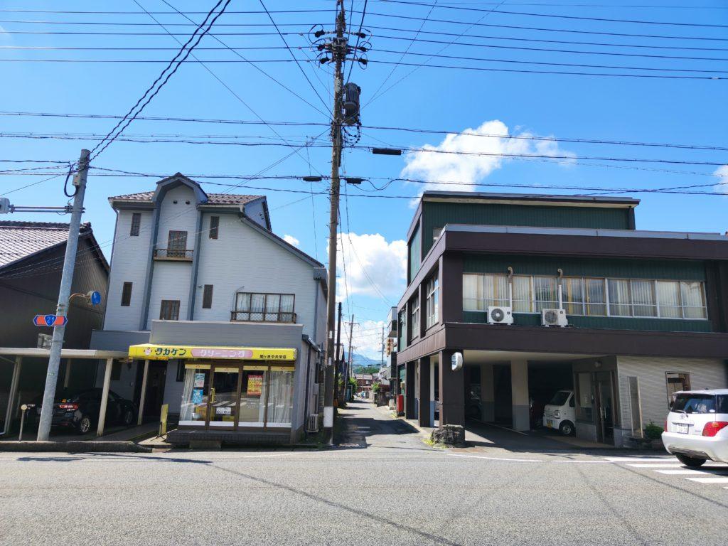 関ヶ原宿伊勢街道入り口