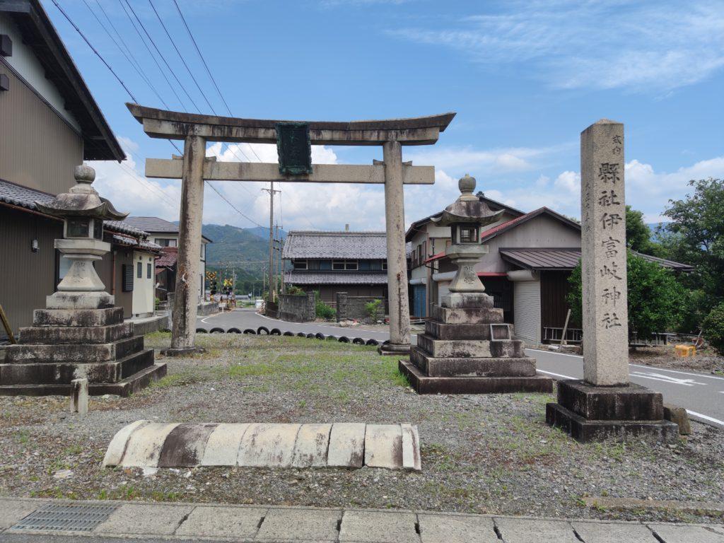 伊富岐神社鳥居