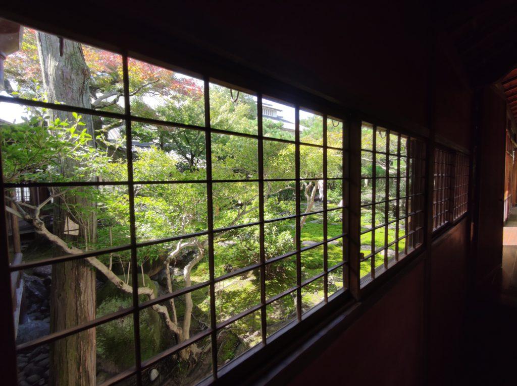旧林家住宅の日本庭園
